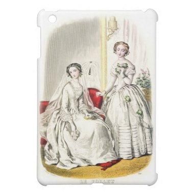 19th Century Wedding iPad Case