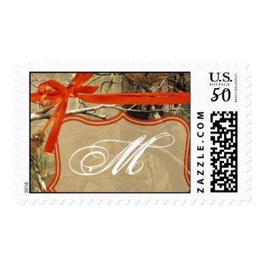 20 Postage Stamps Hunters Orange Camo Camouflage
