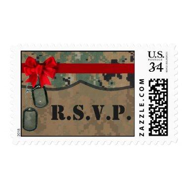 20 Postage Stamps Marine DIGITAL PRINT Uniform Cam