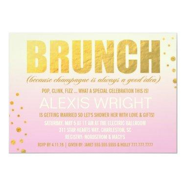 311 Brunch Because Champagne Pink Ombre