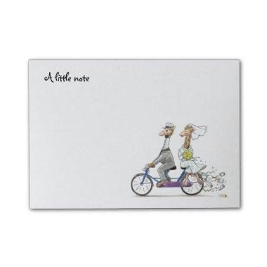 a little note (cute wedding giraffes)