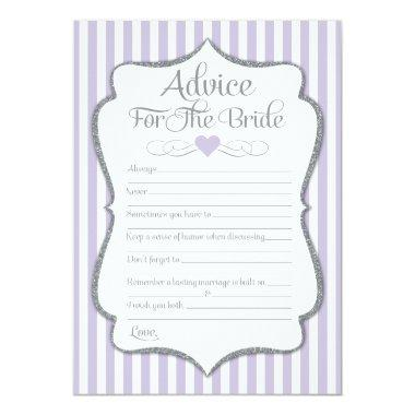 Advice For The Bride Lavender Lilac