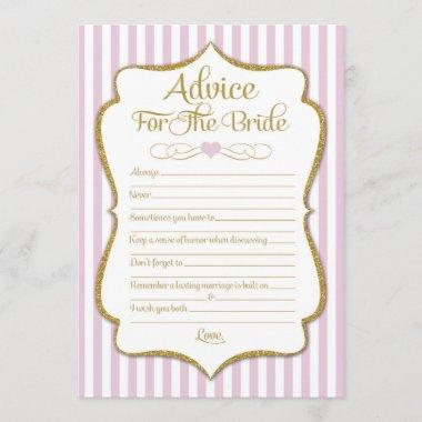 Advice For The Bride Pink Gold  Game