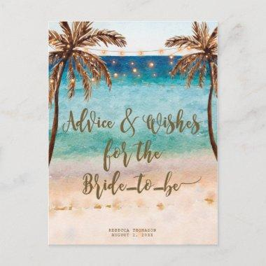 advice & wishes for the bride to be post