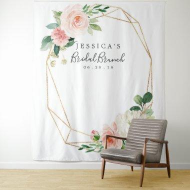 Airy Blush Bridal Shower Backdrop Photo Booth