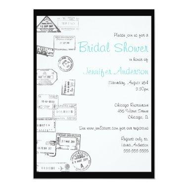 All Roads Led Me to You - Bridal Shower Invitations