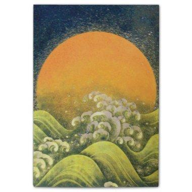 AMATERASU SUN GODDESS Yellow Black Brown Post-it Notes