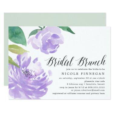 Amethyst Peony | Bridal Brunch