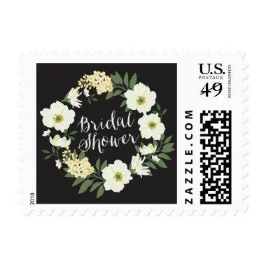 Anemone Floral Wreath  Stamp