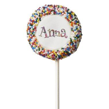 Anna's Colorful Fun Chocolate Dipped Oreo Pop