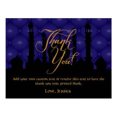 Arabian Themed Thank You Invitations