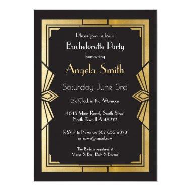 Art Deco  Bachelorette Party Gatsby