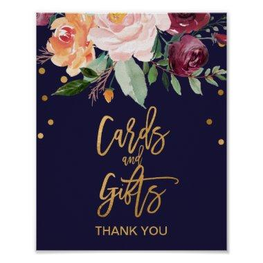 Autumn Floral  and Gifts Sign