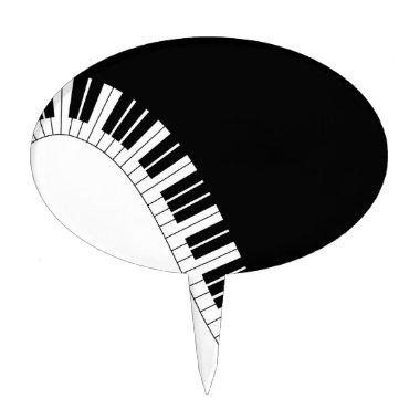 Aziza Keyboard Instruments Cake Topper