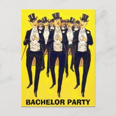 bachelor party Invitations,groom shower Invitations