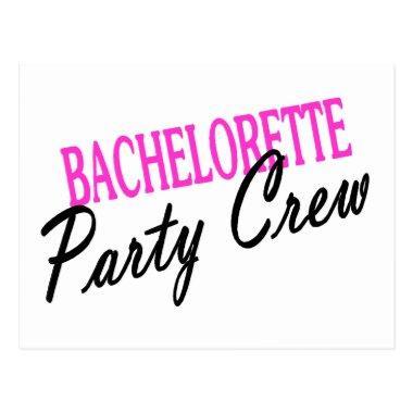Bachelorette Party Crew Post