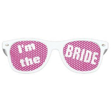 Bachelorette Party Shades for Wedding Party BRIDE