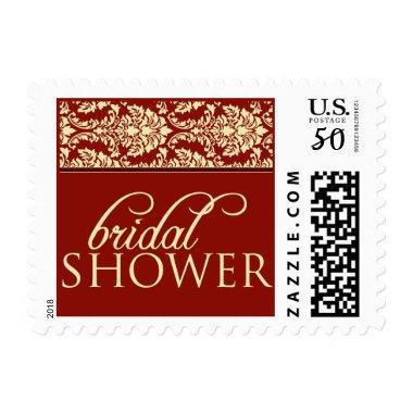 Baroque Elegance  Stamp (crimson)