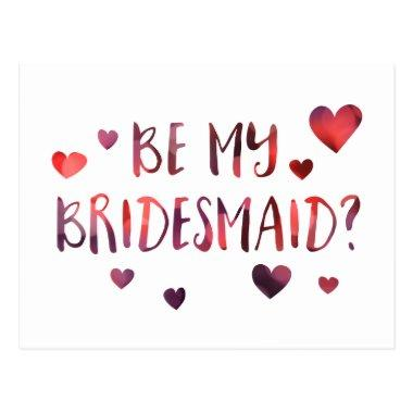 be my bridesmaid bokeh post