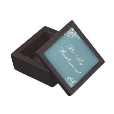 Be My Bridesmaid keepsake gift box