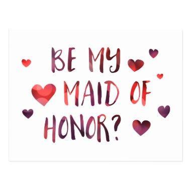 be my maid of honor bokeh post