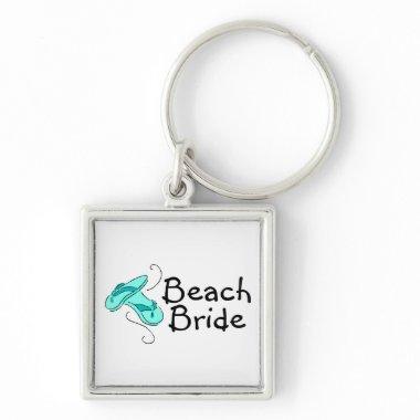 Beach Bride (Flip Flop) Keychain