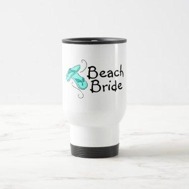 Beach Bride (Flip Flop) Travel Mug