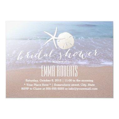 Beach Theme Starfish & Sand Dollar
