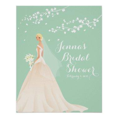 Beautiful Blonde Bride  Poster