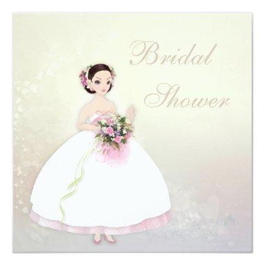 Beautiful Bride Romantic Hearts