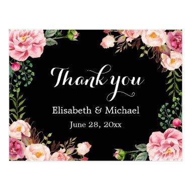 Beautiful Floral Wreath Wrap - Thank You Post
