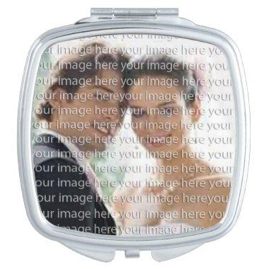 Beautiful Photo Compact Mirror