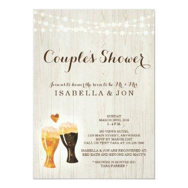 Beer Couple Shower  Bridal Wedding Baby