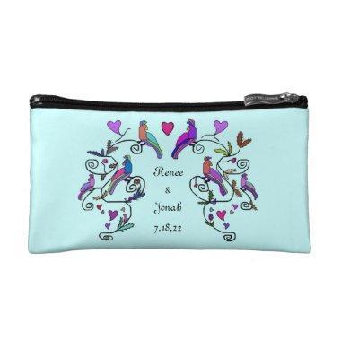 Beshert Wedding Dance Cosmetic Bag