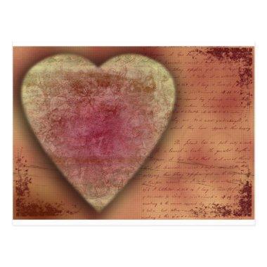 Big Wedding (or Valentine) Heart Post