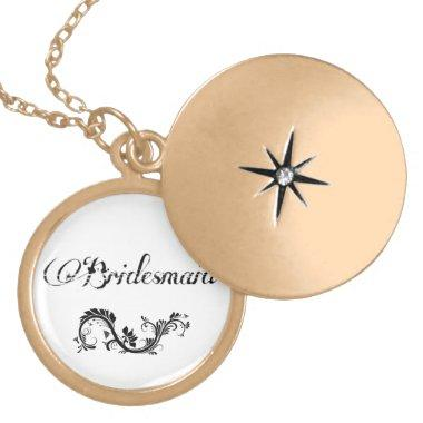 Birdemaid necklace