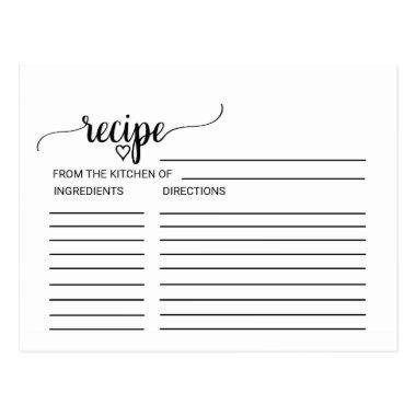 Black Calligraphy  Recipe