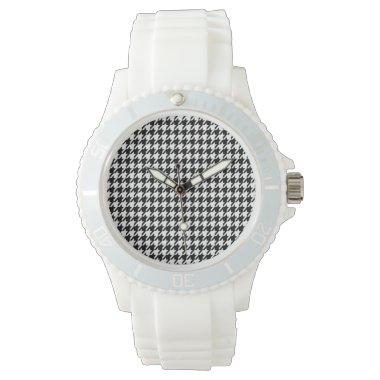 Black Houndstooth Watch