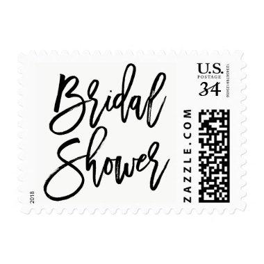 Black Rustic Hand Lettering  Stamp