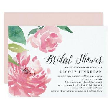 Blooming Peony | Bridal Shower Invitations