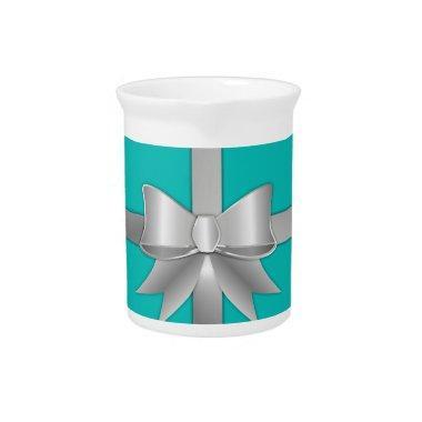 Blue Gift Box Beverage Pitcher