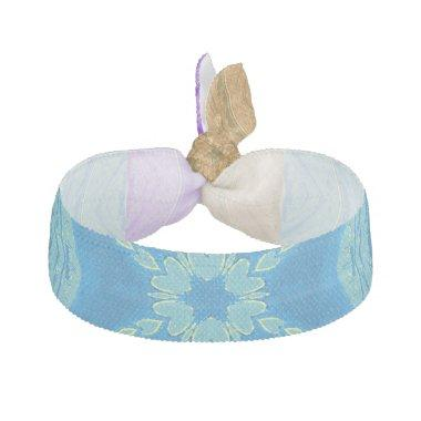 Blue infinity hearts comfortable wedding wear hair tie