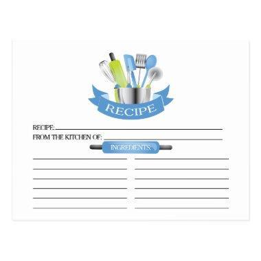 Blue Kitchen Tools  Recipe