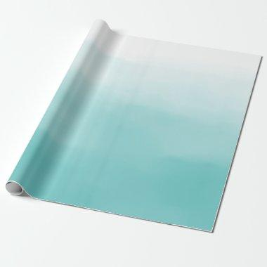 Blue Ombre Wrapping Paper
