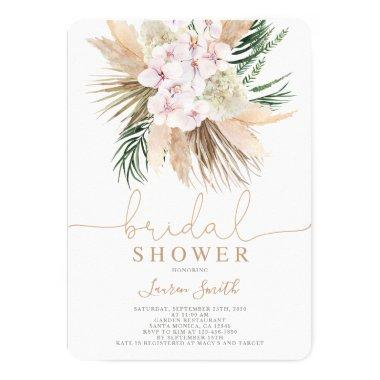 Boho chic bridal shower Invitations