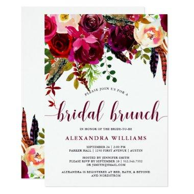 Boho Floral | Bridal Brunch