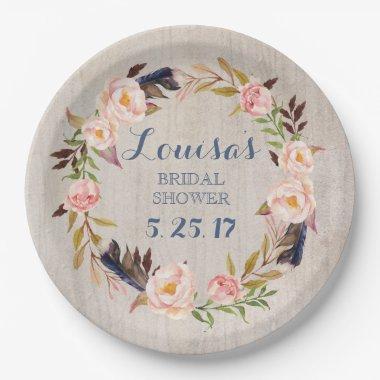 Paper Bridal Shower Plates – Unique Bridal Shower