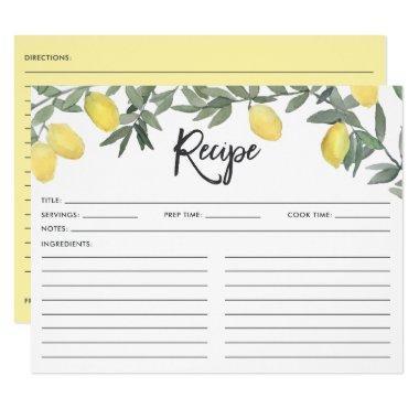 Boho Watercolor Lemon Wreath  Recipe