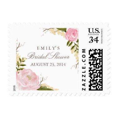 Botanical Floral  Postage Stamp