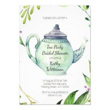 Botanical Tea Party